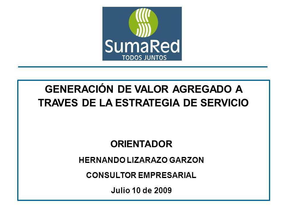 GENERACIÓN DE VALOR AGREGADO A TRAVES DE LA ESTRATEGIA DE SERVICIO