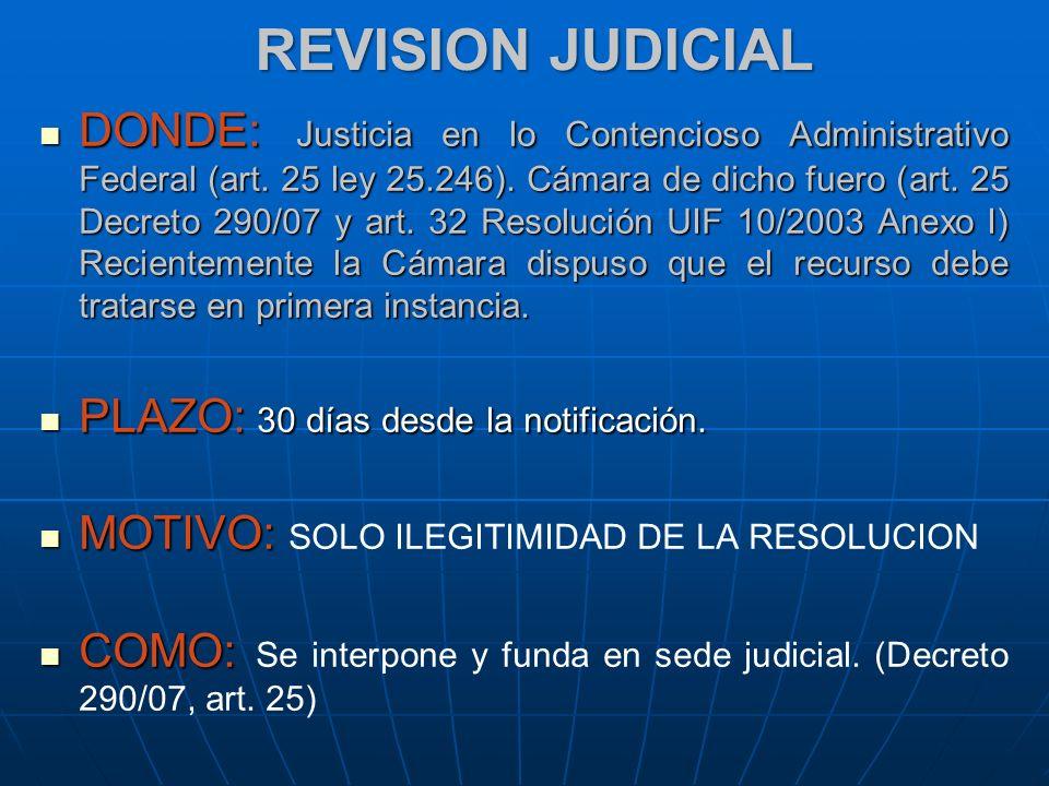 REVISION JUDICIAL