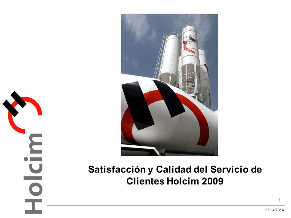 Satisfacción y Calidad del Servicio de Clientes Holcim 2009