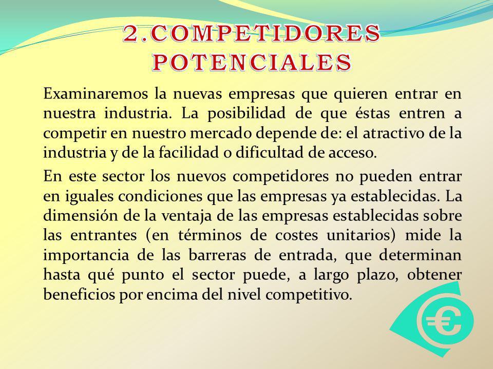 2.COMPETIDORES POTENCIALES