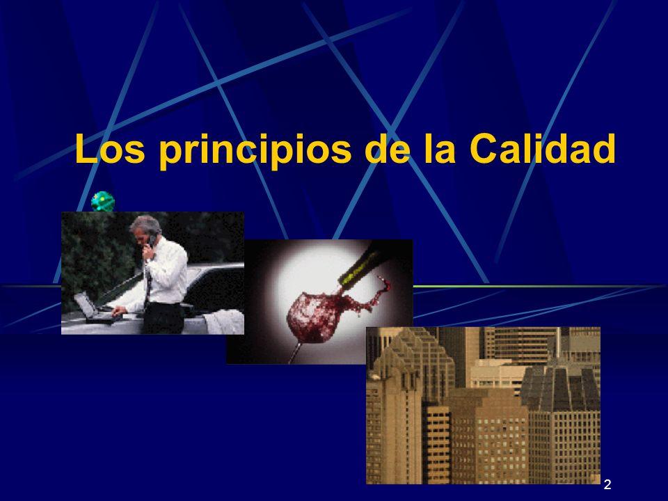 Los principios de la Calidad
