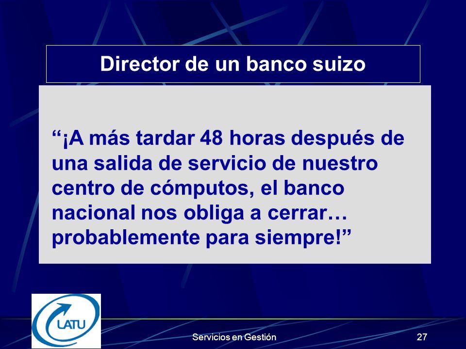 Director de un banco suizo
