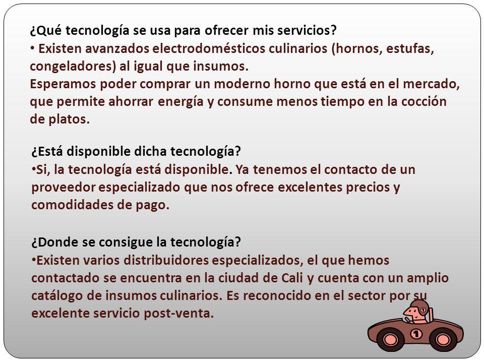 ¿Qué tecnología se usa para ofrecer mis servicios