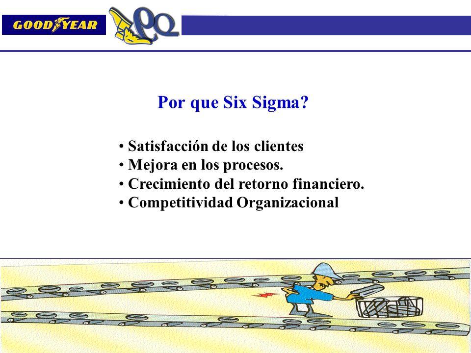 Por que Six Sigma Satisfacción de los clientes