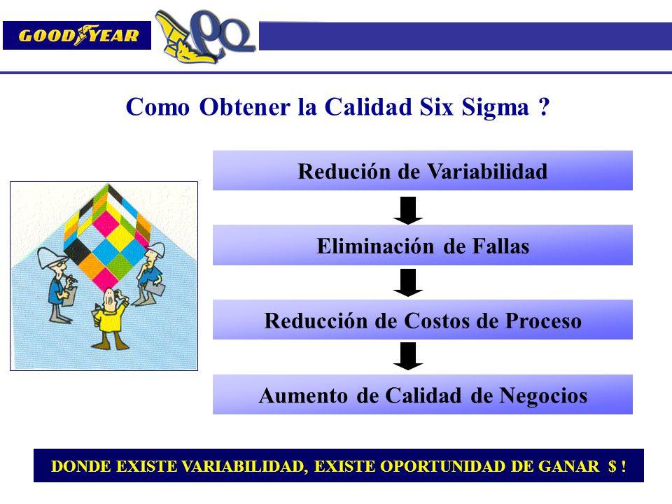 Como Obtener la Calidad Six Sigma
