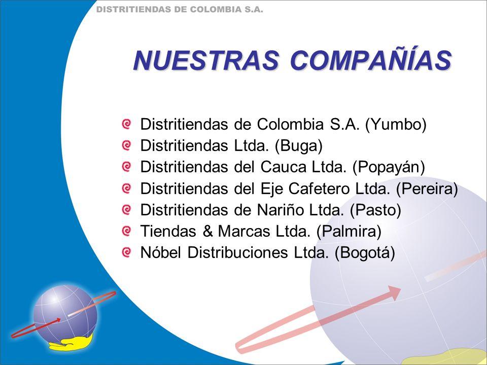 NUESTRAS COMPAÑÍAS Distritiendas de Colombia S.A. (Yumbo)
