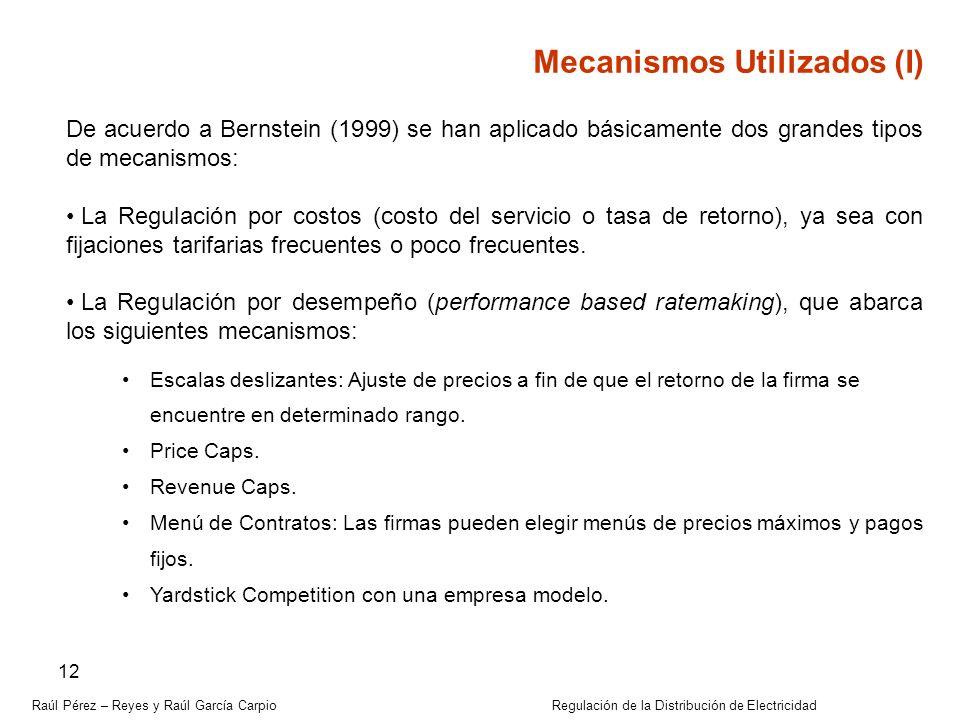 Mecanismos Utilizados (I)