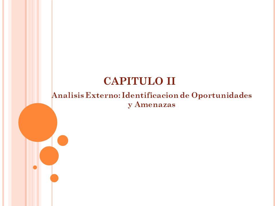 Analisis Externo: Identificacion de Oportunidades y Amenazas