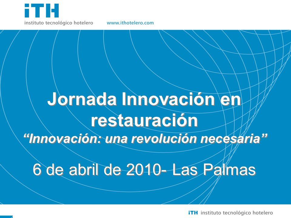 Jornada Innovación en restauración