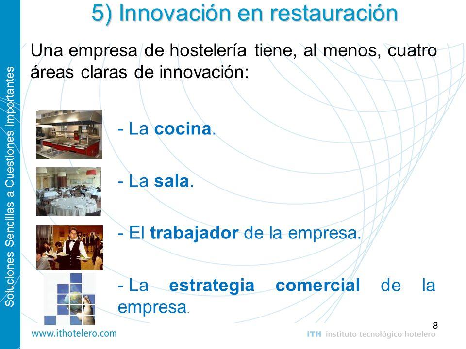 5) Innovación en restauración