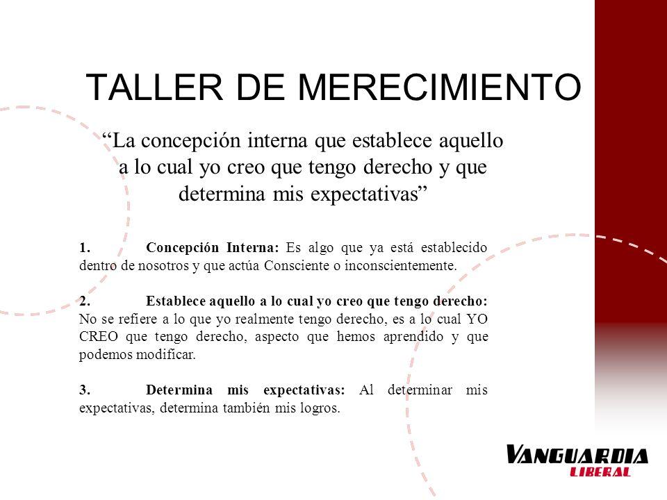 TALLER DE MERECIMIENTO