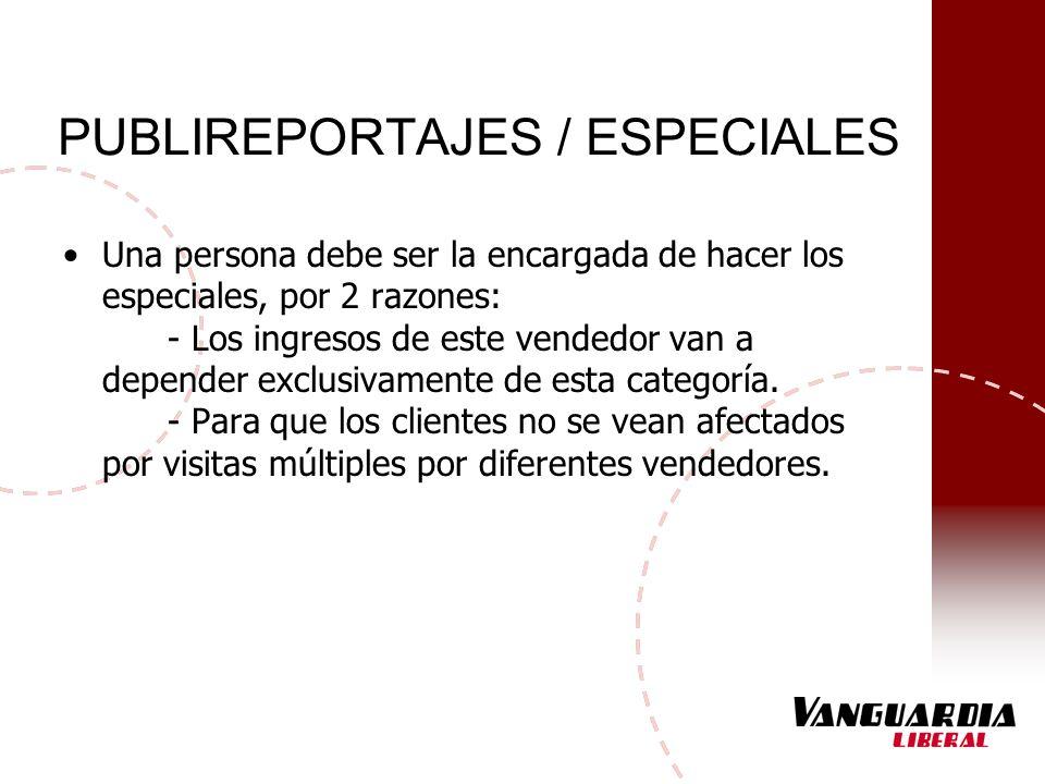 PUBLIREPORTAJES / ESPECIALES