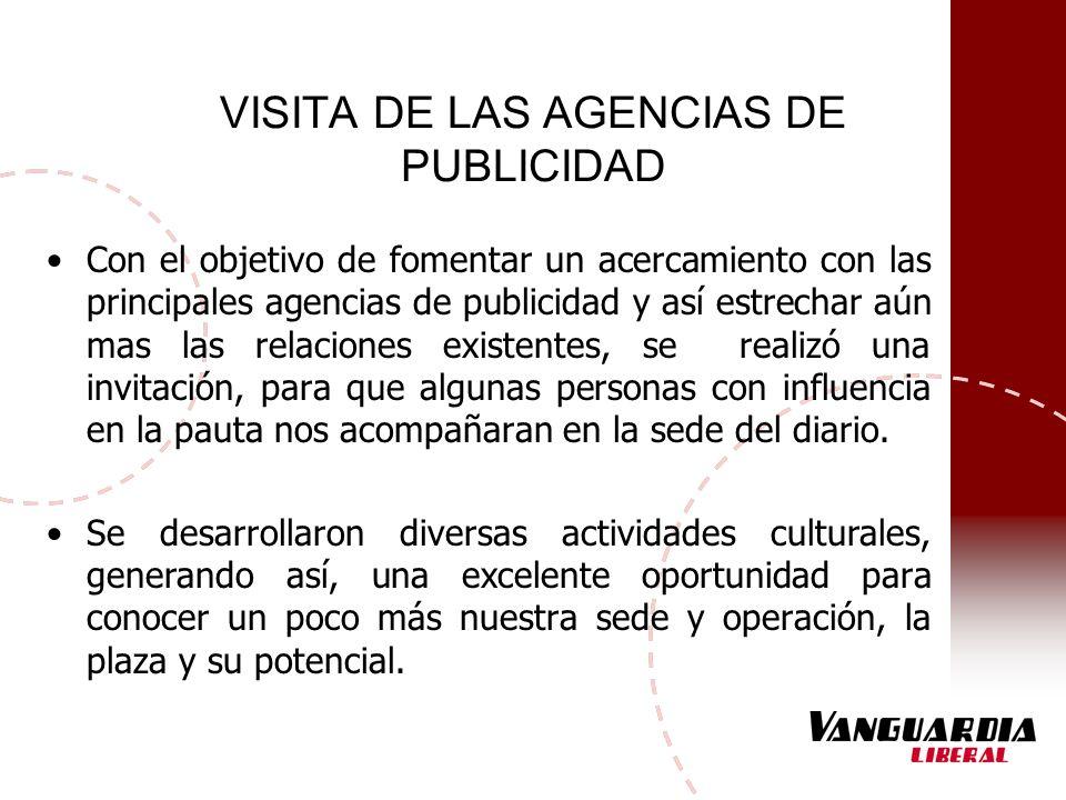 VISITA DE LAS AGENCIAS DE PUBLICIDAD