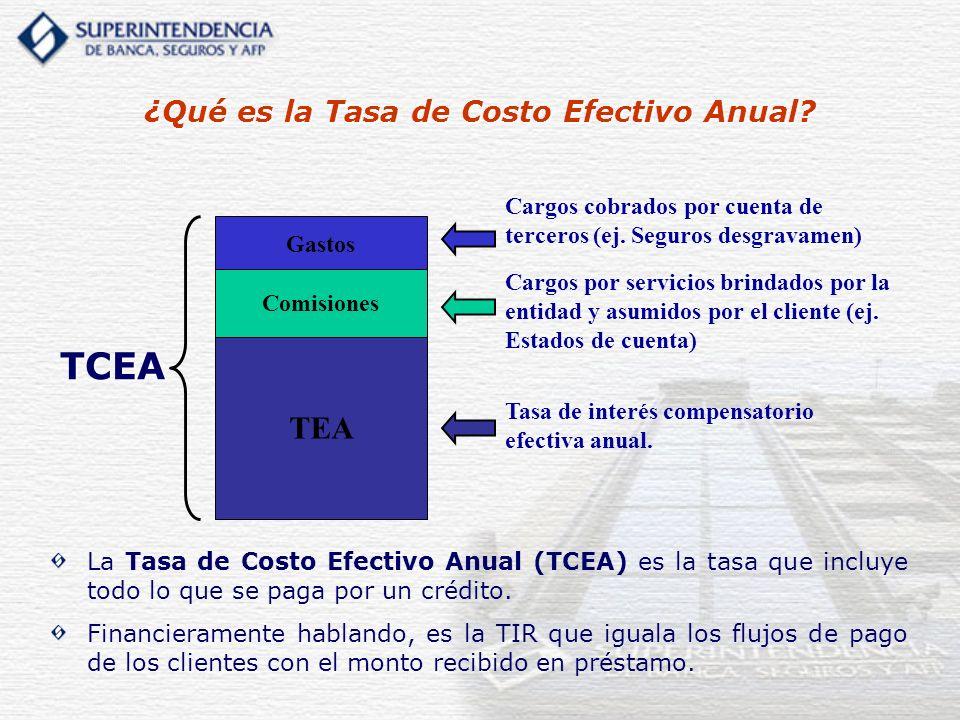 ¿Qué es la Tasa de Costo Efectivo Anual
