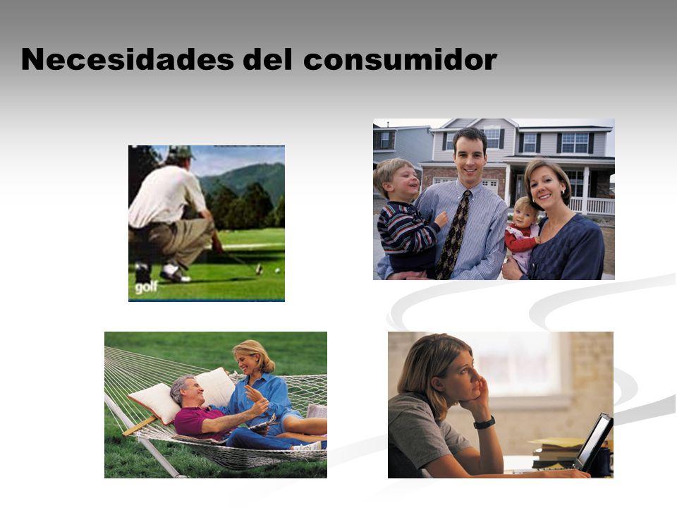 Necesidades del consumidor