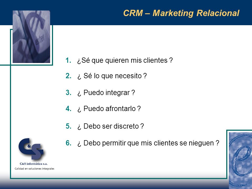 CRM – Marketing Relacional