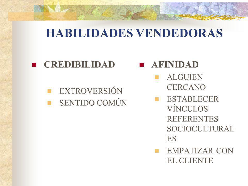 HABILIDADES VENDEDORAS