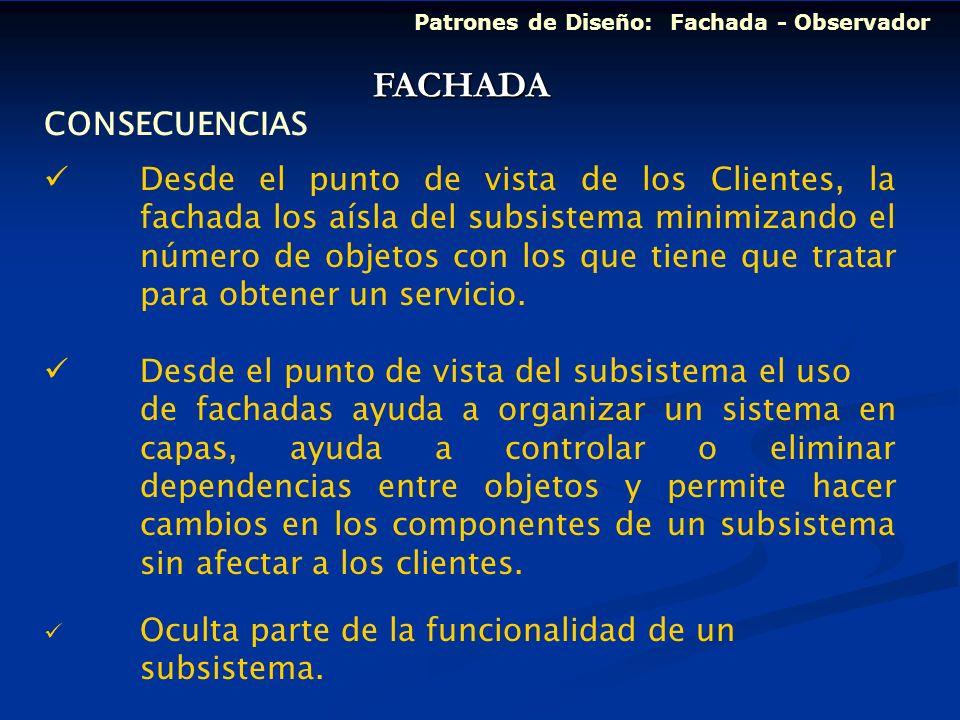 FACHADA CONSECUENCIAS