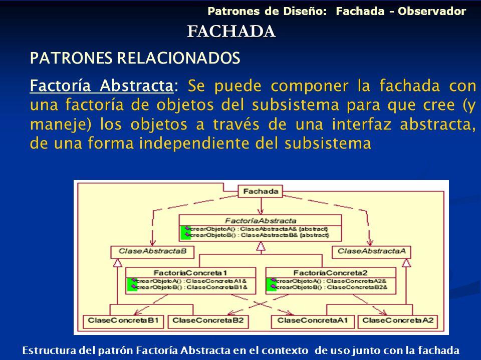 FACHADA PATRONES RELACIONADOS
