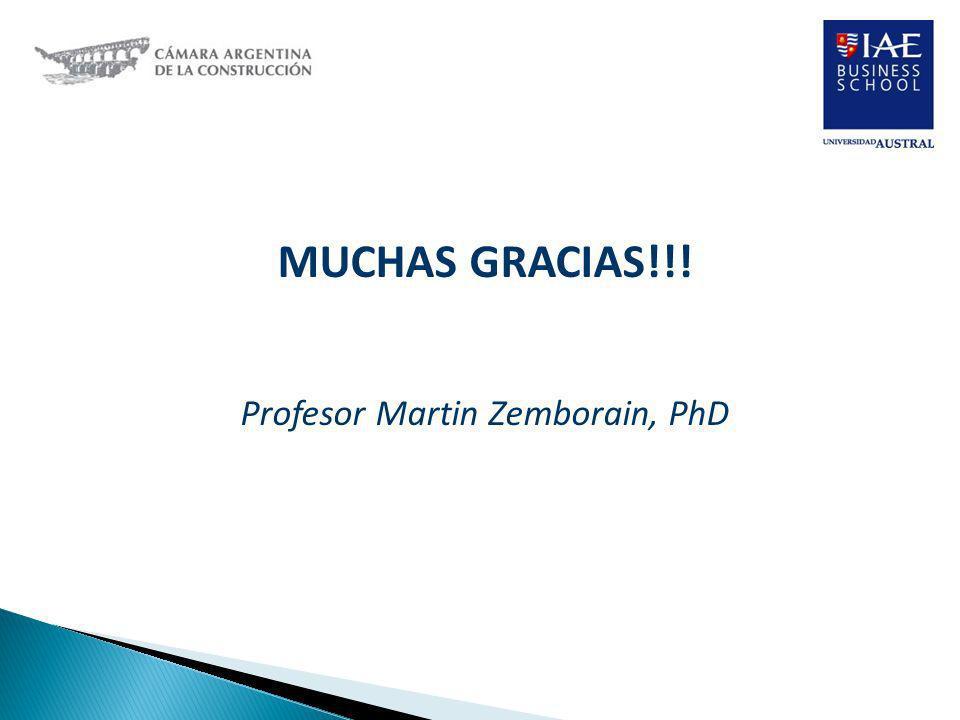 Profesor Martin Zemborain, PhD