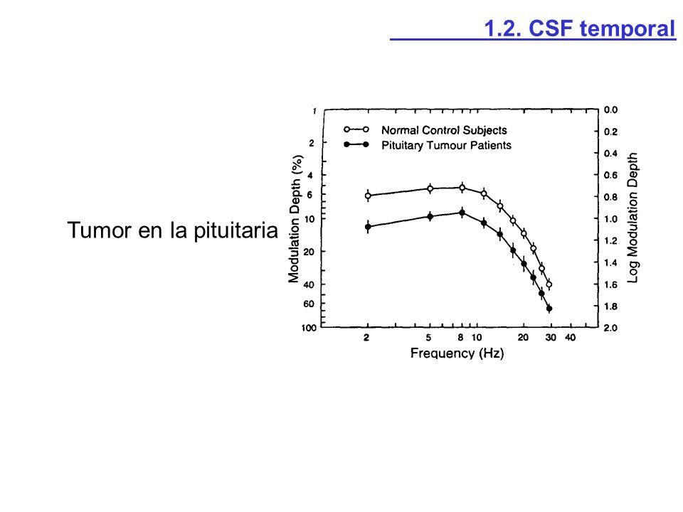 1.2. CSF temporal Tumor en la pituitaria