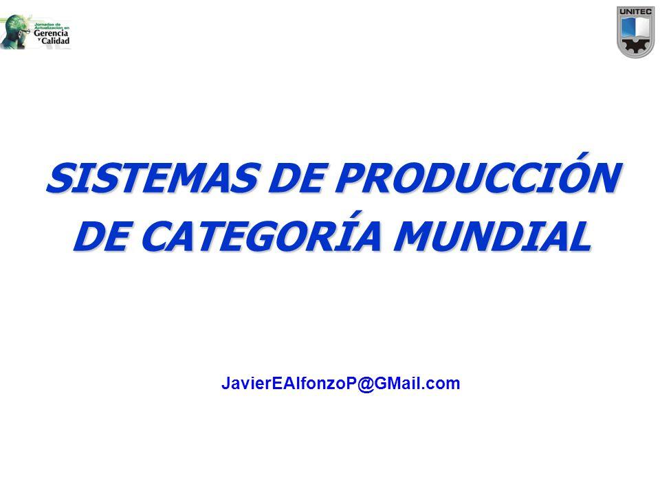 SISTEMAS DE PRODUCCIÓN DE CATEGORÍA MUNDIAL