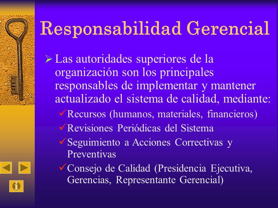 Responsabilidad Gerencial