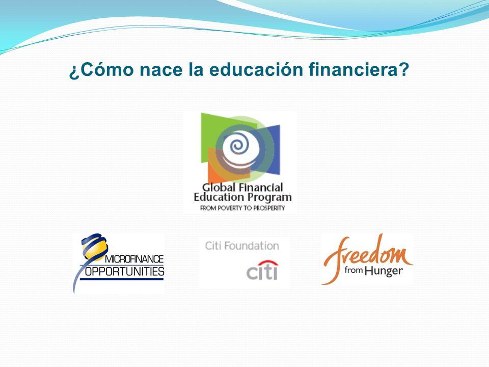 ¿Cómo nace la educación financiera