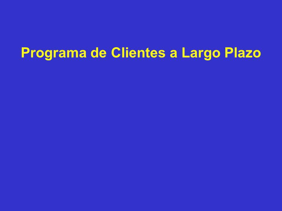 Programa de Clientes a Largo Plazo