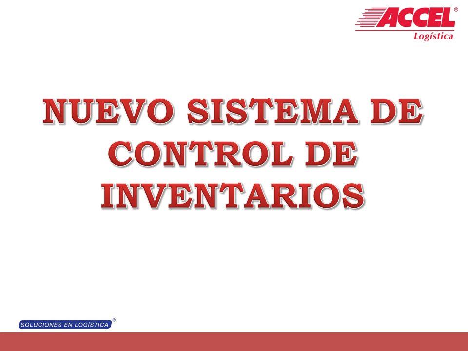 NUEVO SISTEMA DE CONTROL DE INVENTARIOS