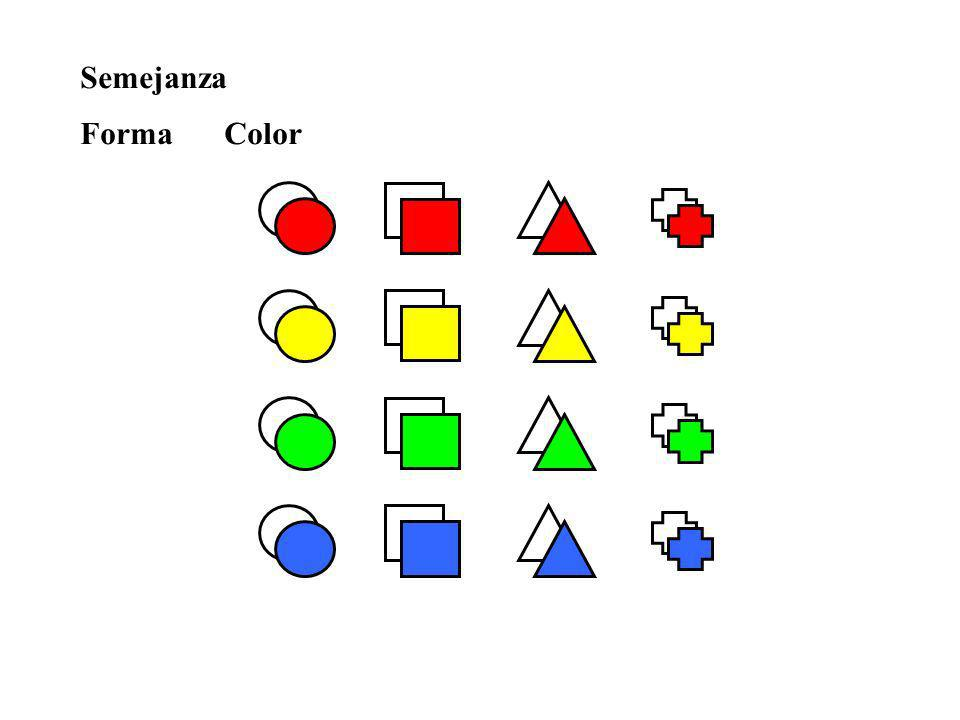 Semejanza Forma Color