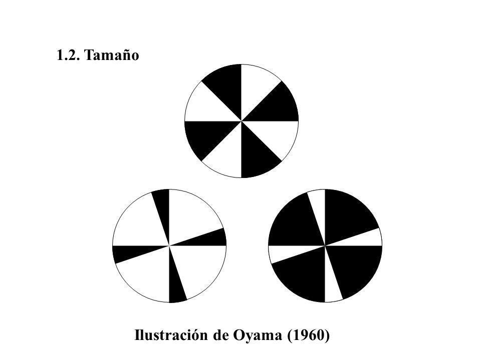 1.2. Tamaño Ilustración de Oyama (1960)