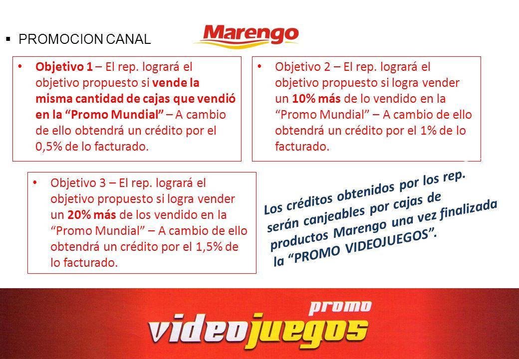 PROMOCION CANAL