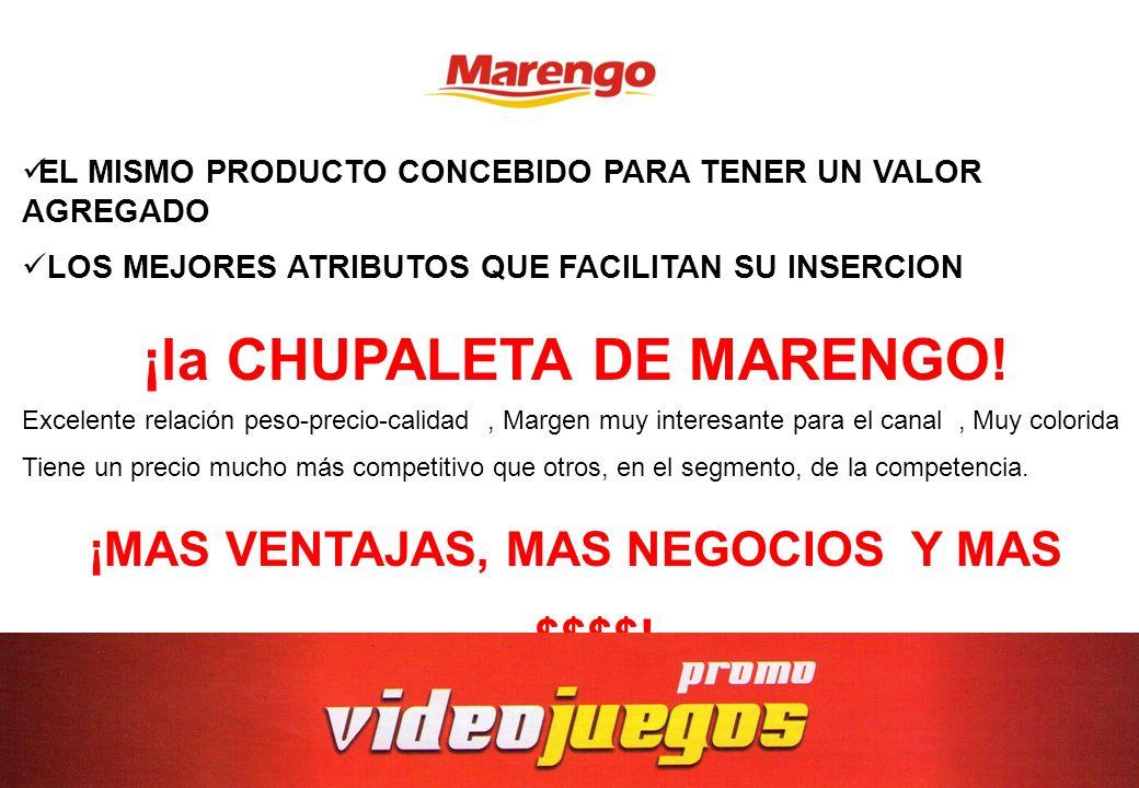 ¡la CHUPALETA DE MARENGO!