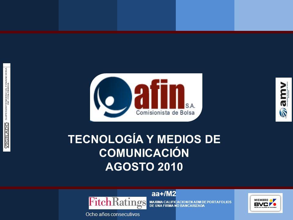 TECNOLOGÍA Y MEDIOS DE COMUNICACIÓN