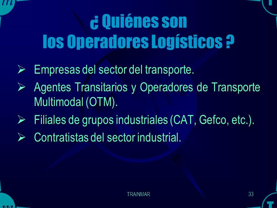¿ Quiénes son los Operadores Logísticos