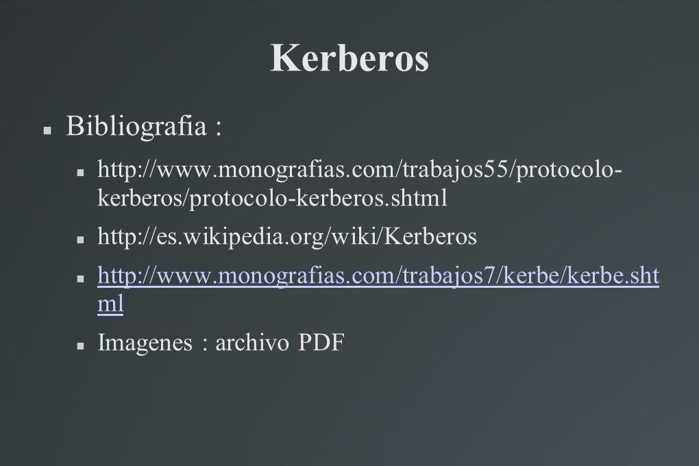 Kerberos Bibliografia :