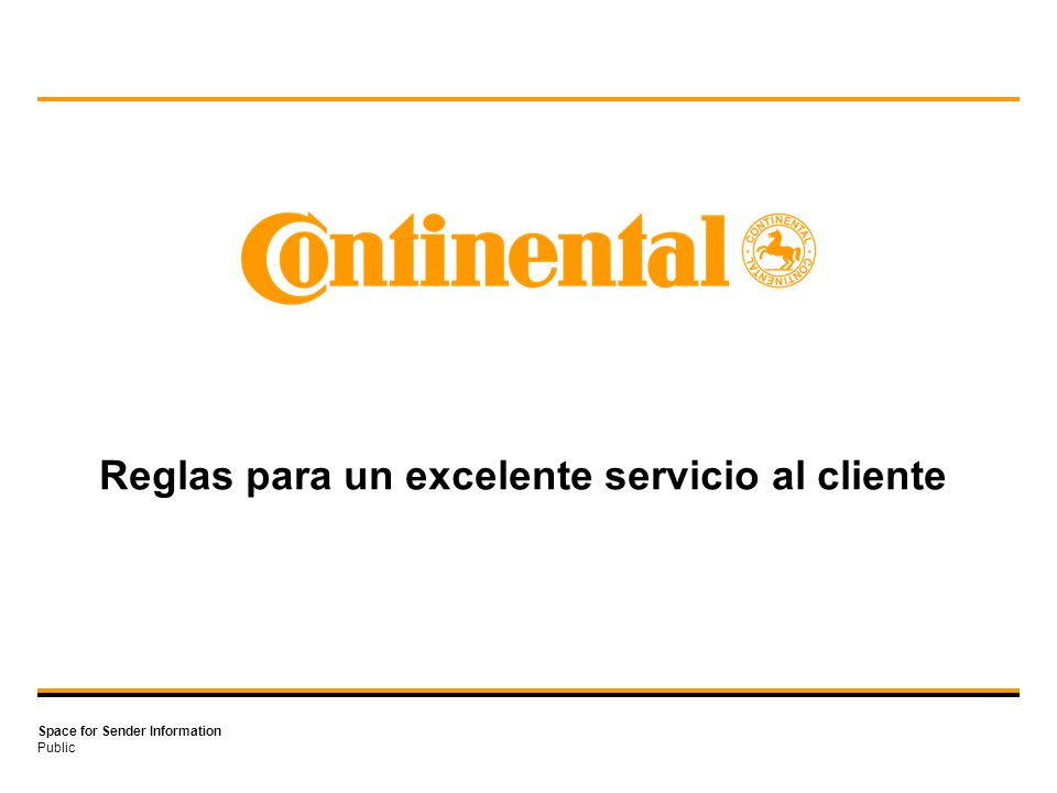 Reglas para un excelente servicio al cliente
