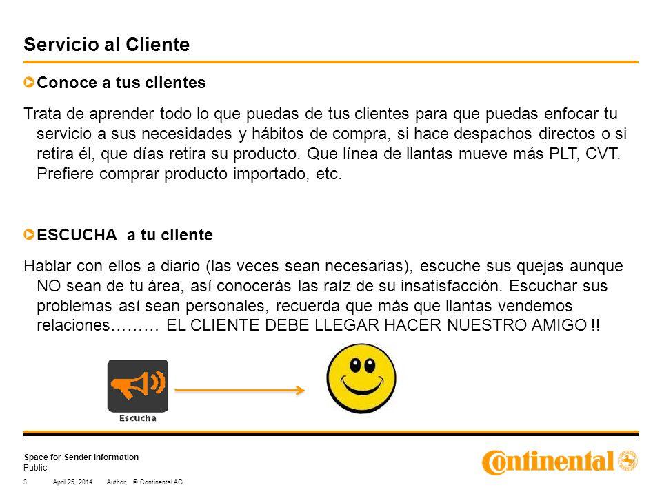 Servicio al Cliente Conoce a tus clientes