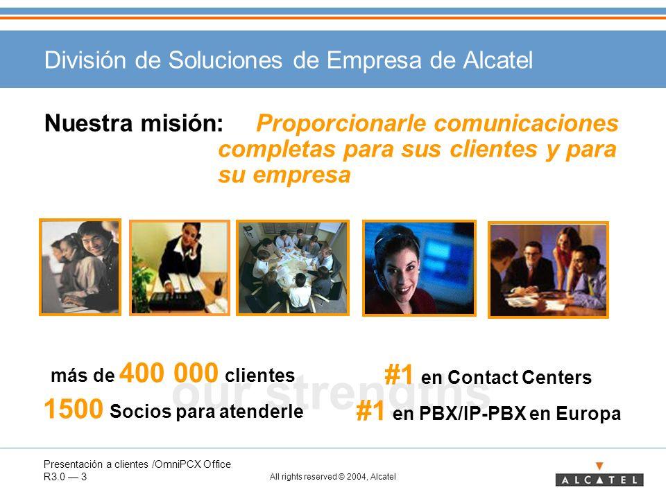 División de Soluciones de Empresa de Alcatel