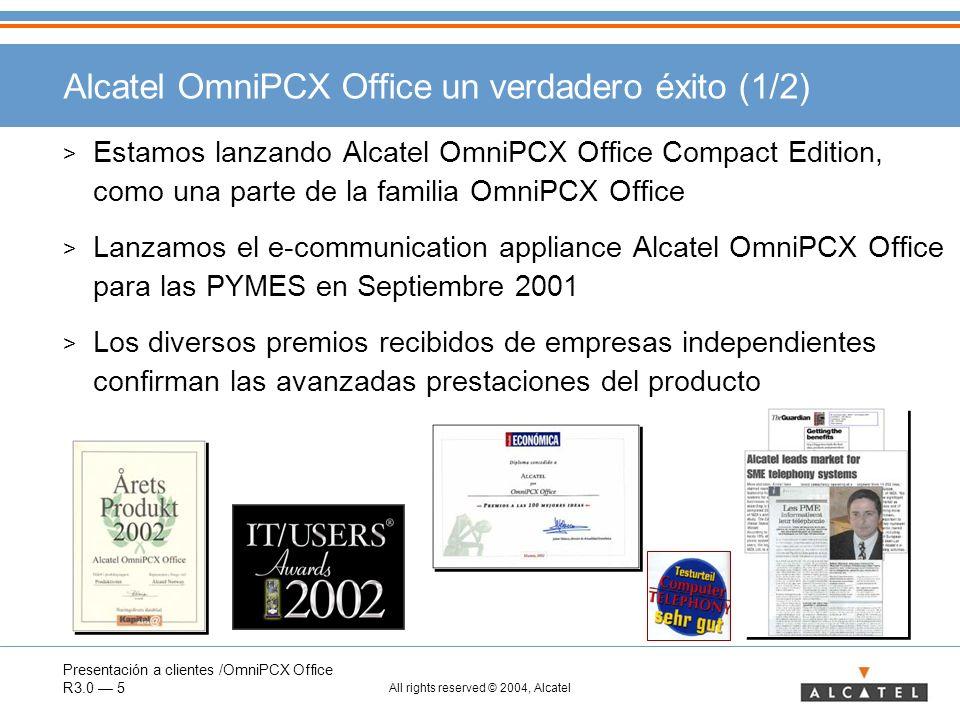 Alcatel OmniPCX Office un verdadero éxito (1/2)