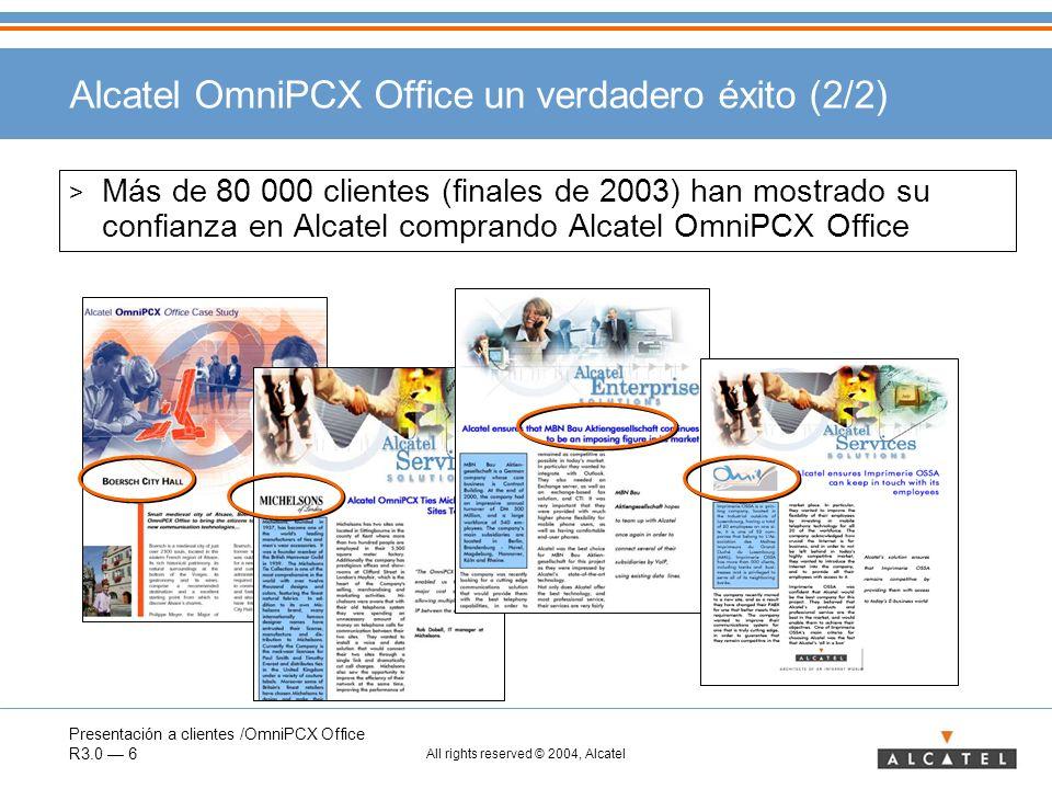 Alcatel OmniPCX Office un verdadero éxito (2/2)