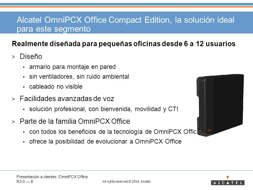 Alcatel OmniPCX Office Compact Edition, la solución ideal para este segmento