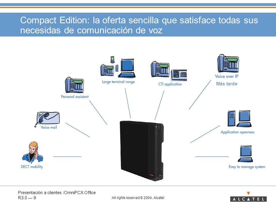 Compact Edition: la oferta sencilla que satisface todas sus necesidas de comunicación de voz