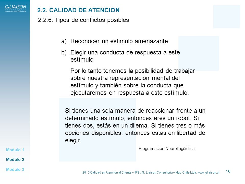 2.2.6. Tipos de conflictos posibles