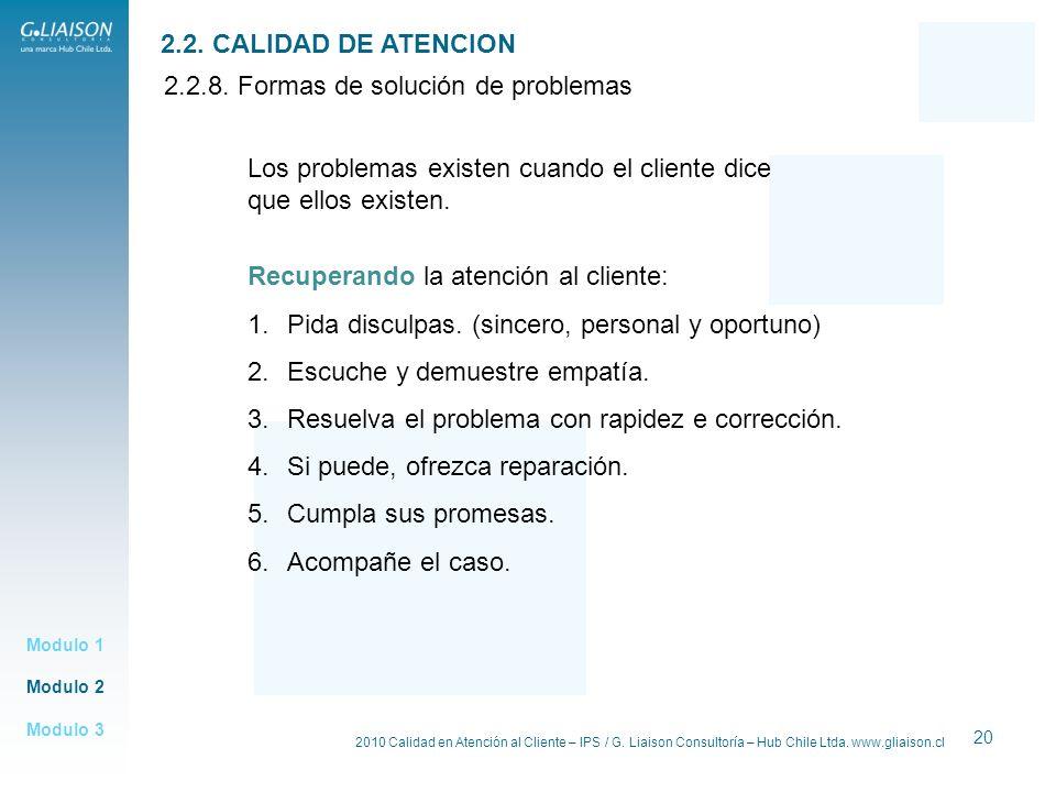 2.2.8. Formas de solución de problemas
