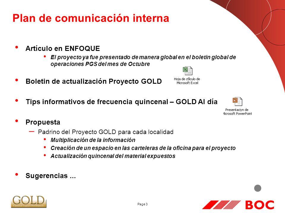 Plan de comunicación interna