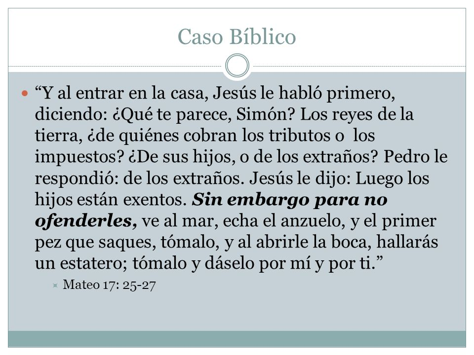 Caso Bíblico