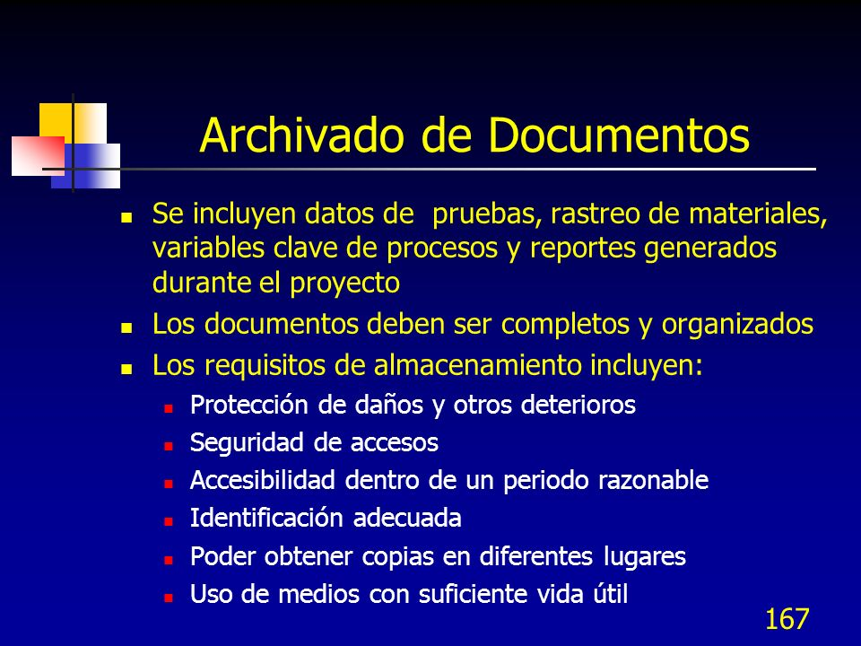 Archivado de Documentos