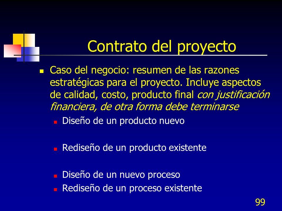 Contrato del proyecto